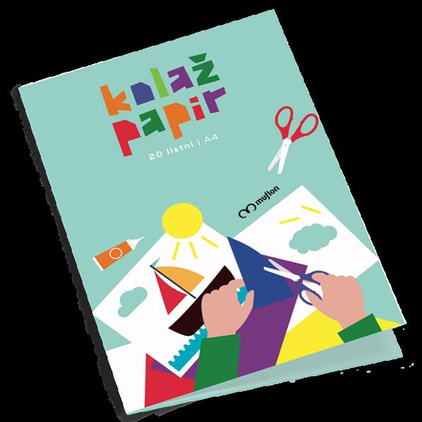 Barvni papir A4 za ustvarjanje