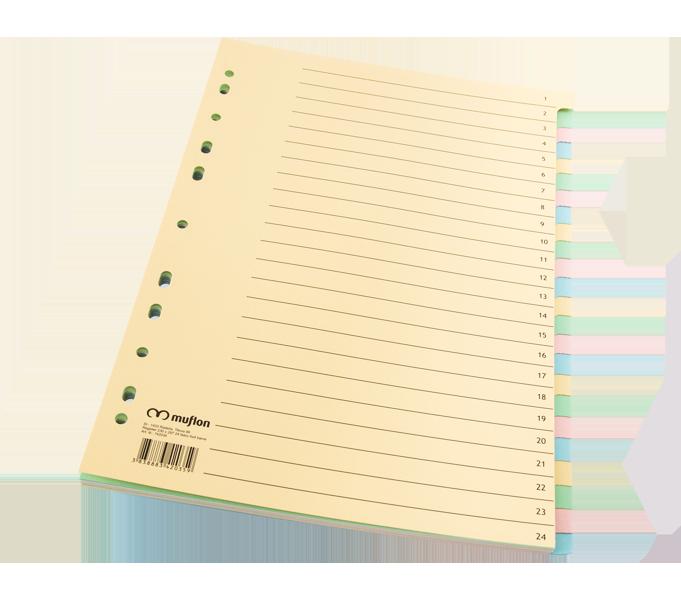 Register, 24 listni